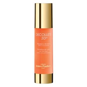 Jeanne Piaubert, Decolleté 3D (Cena: 499 zł, 50 ml) - kosmetyk sprawia, że tłuszcz przyjęty z pokarmem jest wiązany i składowany w okolicy biustu, a piersi zyskują większą objętość, jędrność i dekolt wygląda bardziej uwodzicielsko. www.jeannepiaubert.com
