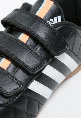 adidas Performance - 11QUESTRA IN - Indendørs fodboldstøvler - core black/white/flash orange