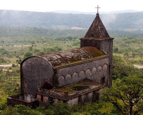 Preah Monivong National Park, which is often referred to as Bokor National Park - CAMBODIA