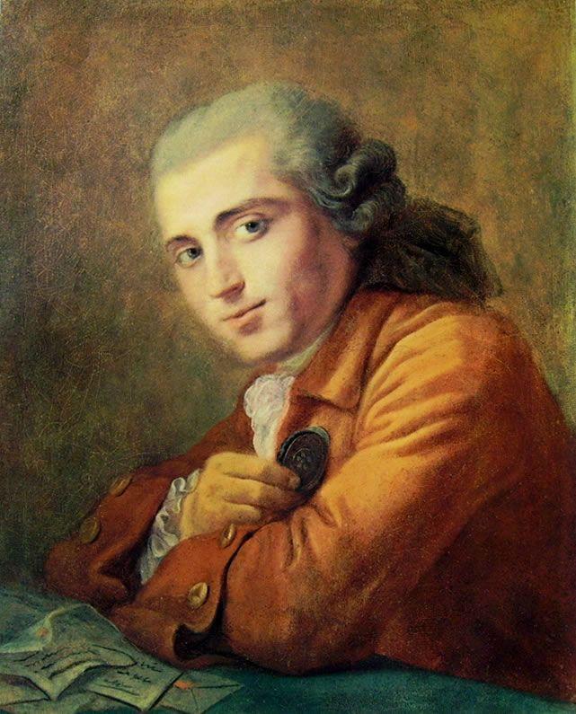 """Jean-Honorè Fragonard, """"Alessandre Maubert"""", 1789-1806, olio su tela, 61 x 49 cm, custodito in una collezione privata."""