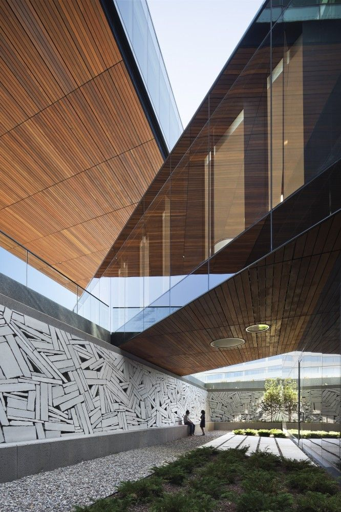 Beautiful angles and textures in this piece of work.  2013 AIA Institute Honor Awards for Architecture