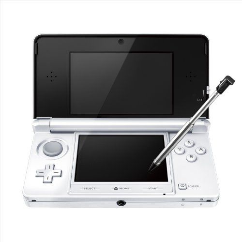 Black Friday Nintendo 3DS Console - Ice White (Japanese Imported Version - only plays Japanese version games) from Nintendo