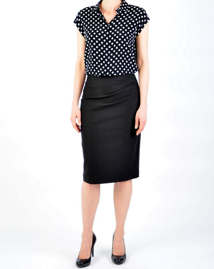 Thelma bluse 1099. Designertøj til kvinder forår og sommer 2015 | Mette Bredahl Design