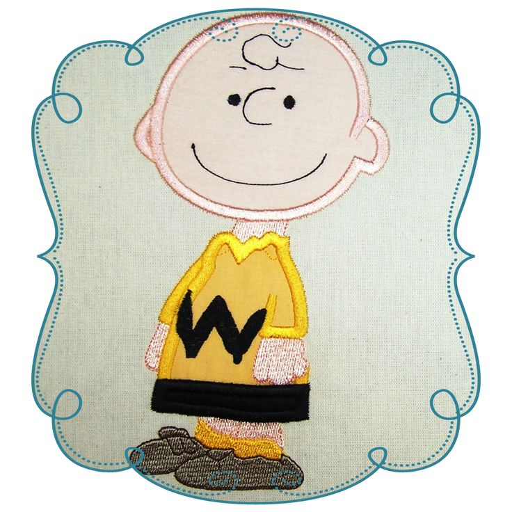 Snoopy Applique Machine Embroidery Design Pattern-Instant Download Loves Applique