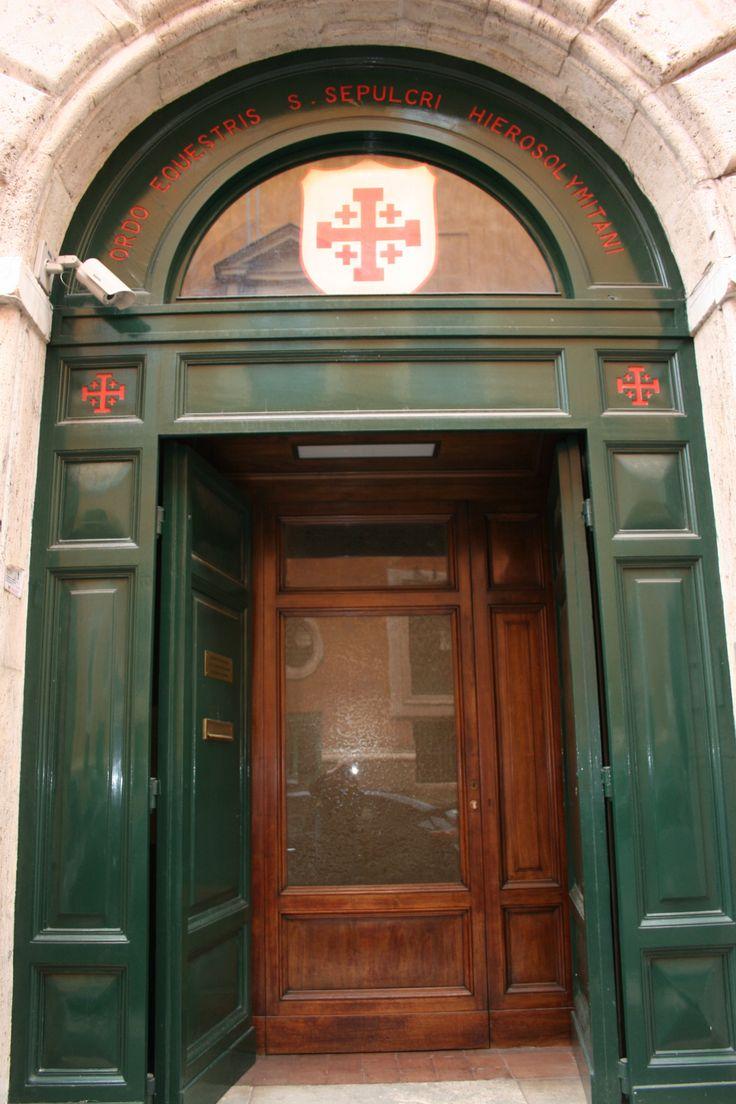 Green #door in #VaticanCity #Rome & 16 best Roman Doors/Entryways images on Pinterest | Door entry ...