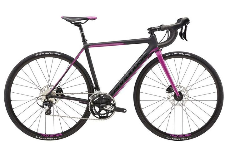 Cannondale SuperSix Evo Disc Women's 105 http://www.bicycling.com/bikes-gear/recommended/17-for-2017-the-best-road-bikes-of-2017/slide/4