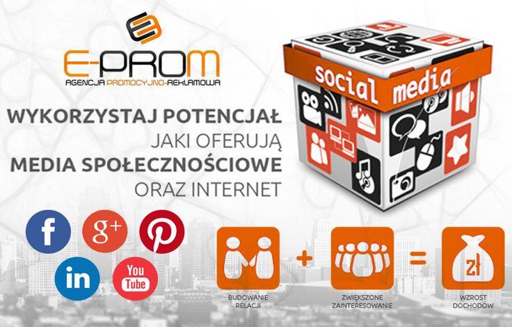 Zapraszamy na nasz blog ! Dziś kolejny ciekawy wpis na temat social mediów w biznesie ;) http://e-prom-agencja-promocyjno-reklamowa.blogspot.com/2015/06/5-powodow-dla-ktorych-twoja-firma.html