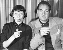 Imogene Coca and Sid Caesar