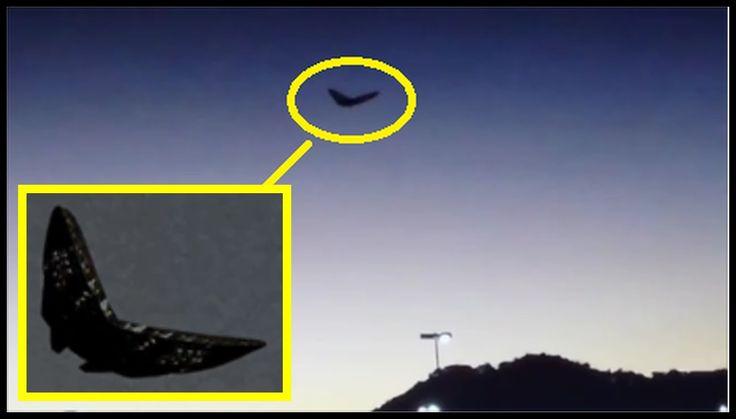 【UFO映像2015】「黒き巨大蝶」オハイオ州で目撃!! ≪×BC≫