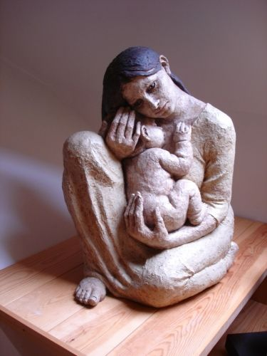 "Megan di Giralomo ""Madonna and Child"""