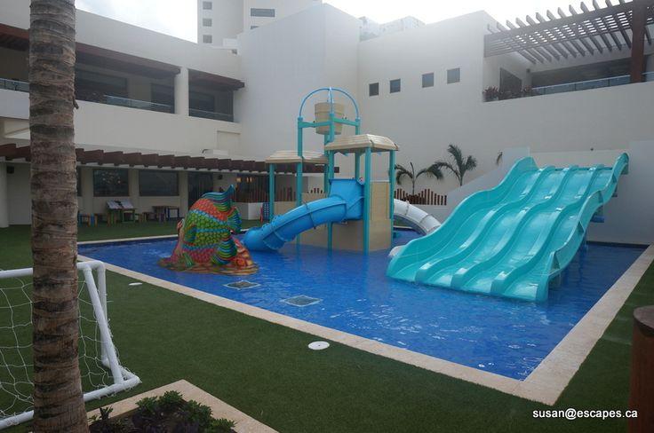 kids play area at Hyatt Ziva Cancun