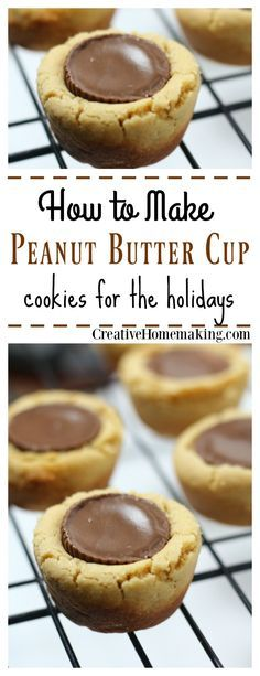 These easy peanut butter cup Christmas cookies are the perfect combination of chocolate and peanut butter. Great for holiday or Christmas cookie exchanges!