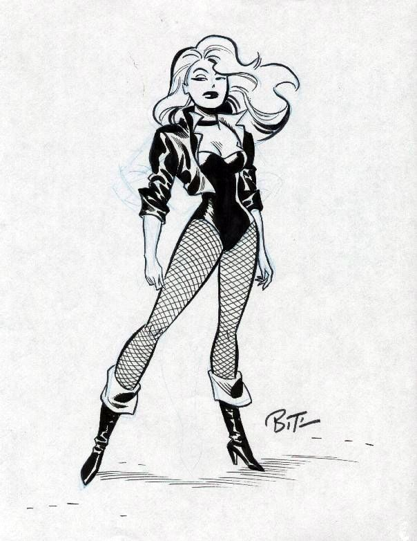 Justice League - Black Canary by Bruce Timm