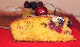 Un cestino di ciliege: Torta Morbida alle Ciliegie