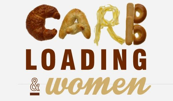 Carbohydrate Loading and Women:   Research has shown that while men lap up the rewards, women are getting little if any performance benefits from Carbo-loading.  #endurance #woman #nutrition #fitness #nutreats