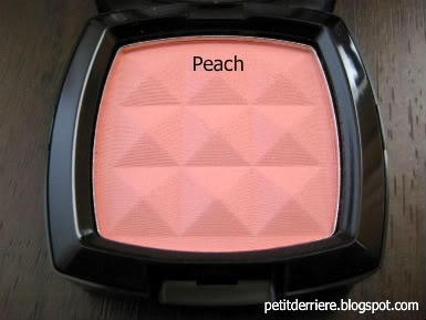 Nyx peach blush. My absolute favorite matt blush!