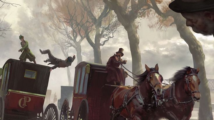 Stagecoach Combat - Characters & Art - Assassin's Creed Syndicate