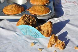 Muffins ai fichi e mandorle