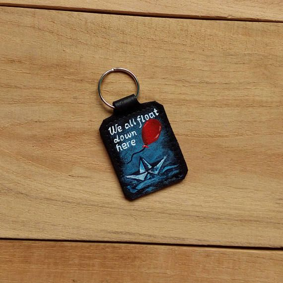 Check out this item in my Etsy shop https://www.etsy.com/listing/526958485/custom-order-stephen-king-keychain