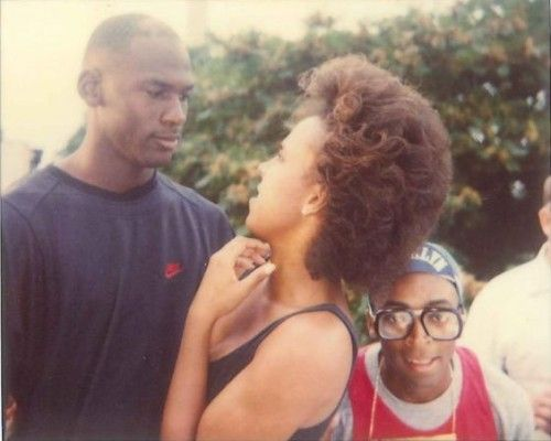tracy camilla johns,michael jordan,spike lee | Vintage | Pinterest | Polaroid, Posts and Jordans
