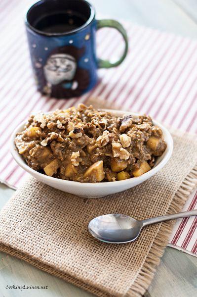 Apple Quinoa Morning Start - My new favorite cold weather breakfast!