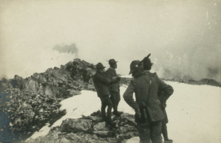 Isonzo, intemperie ostacolano attività delle truppe italiane