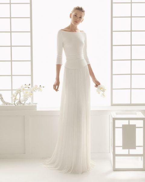 Best 36 brautkleid schlicht ideas on Pinterest   Hochzeitskleider ...