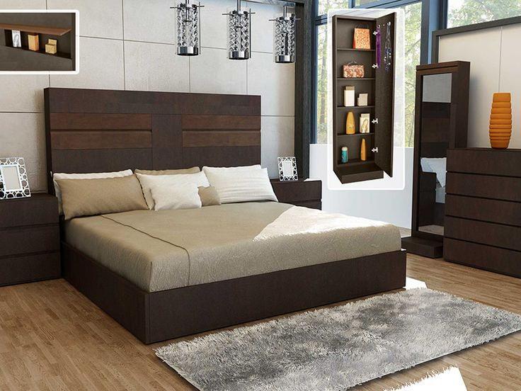 Mejores 46 im genes de camas de madera en pinterest for Modelos de recamaras king size