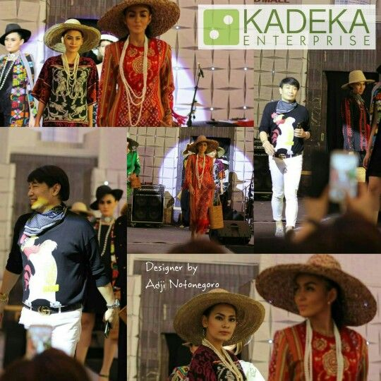 FASHION SHOW by Adji Notonegoro bersama JPN RKIH  Organized by KADEKA Enterprise