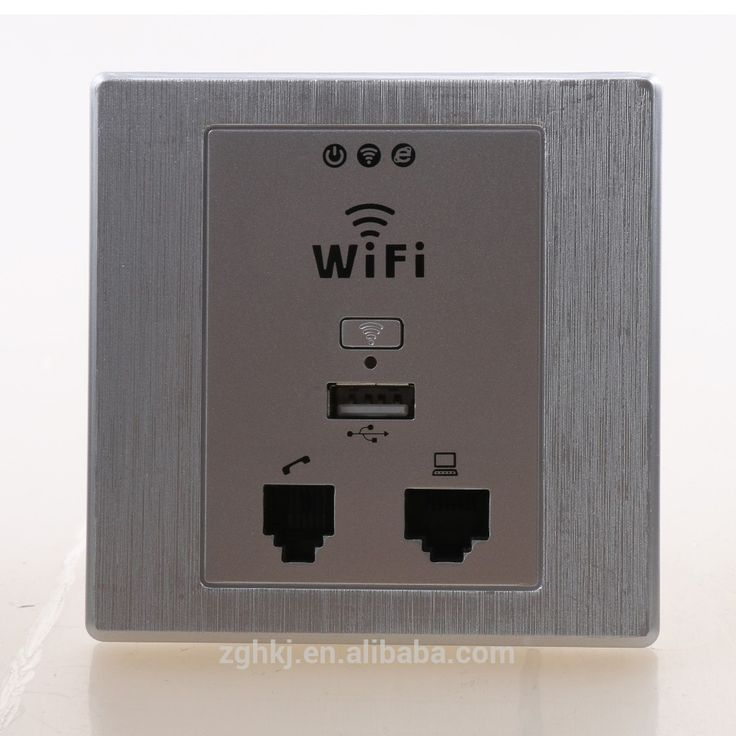 Dual WLAN Port Wireless In-wall Wifi AP Router Access Point