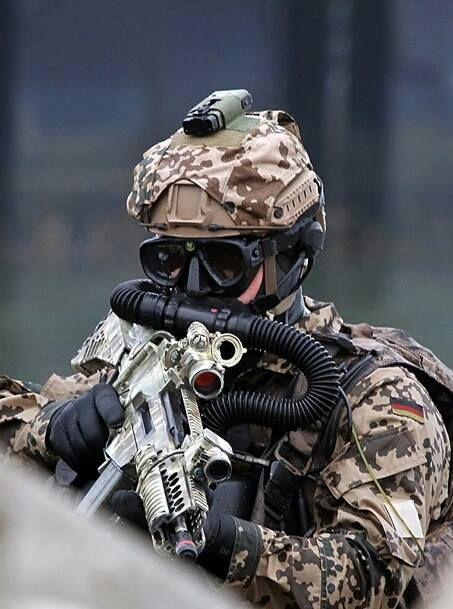 German commando frogmen