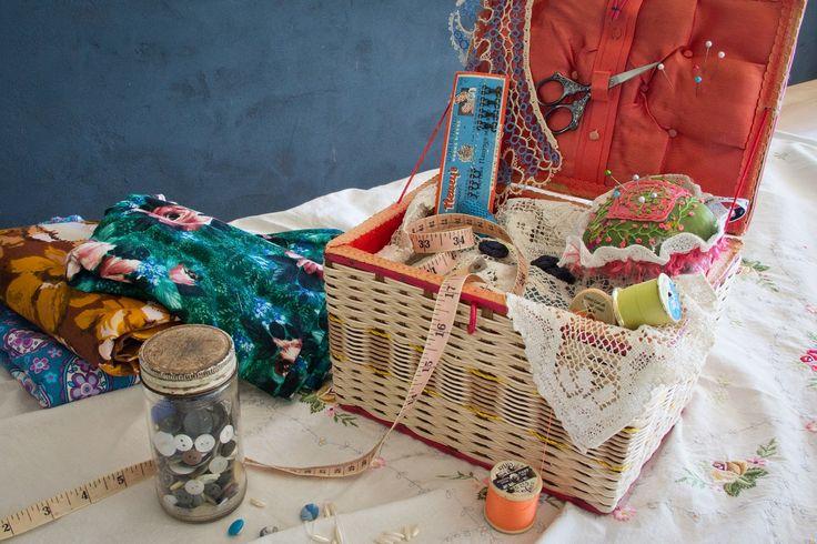 VINTAGE HOME: Vintage Sew Along with Karen Williamson Vintage Craft School/Vintage/Craft/Arts&Crafts/Sew/Sewing
