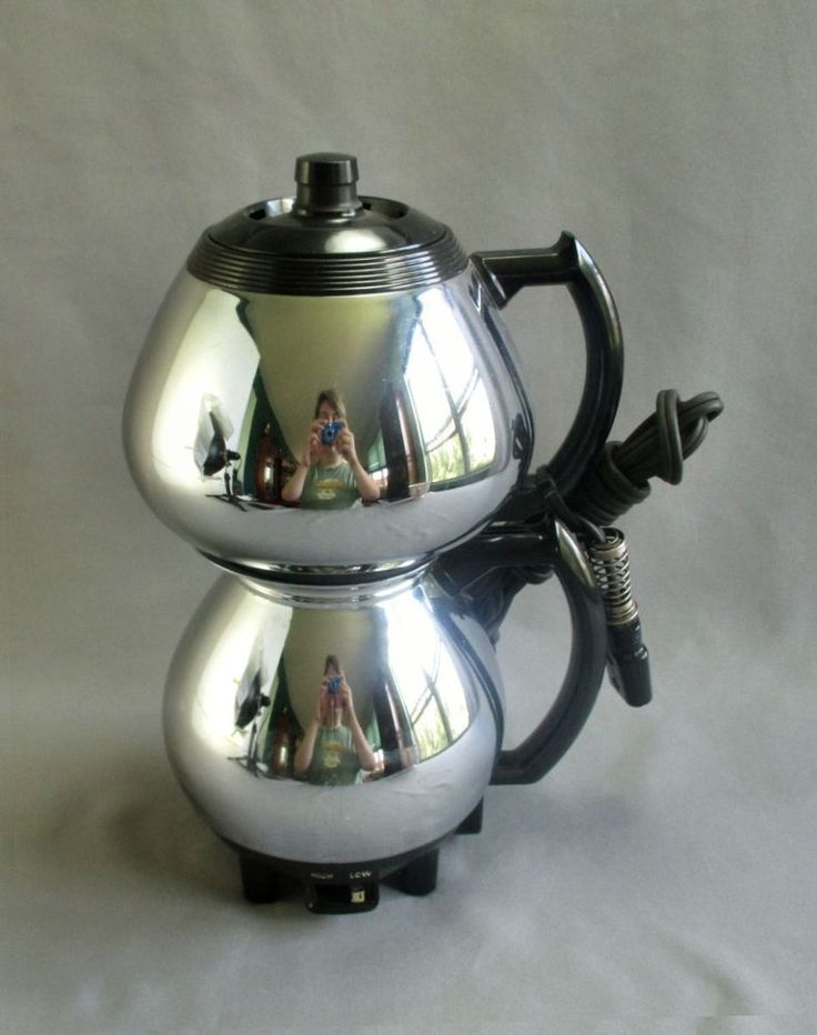 Sunbeam Percolator Coffee Maker : Vintage Sunbeam C 30C Double Bubble Vacuum Percolator Coffee Maker Pot 8 Cups #Sunbeam ...
