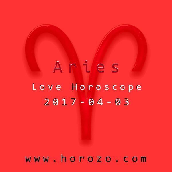 Aries Love horoscope for 2017-04-03: Turn the flame down low and let stuff simmer a bit. You'll notice something or someone you'll miss if you're in full-on working it mode. And by tonight, the stars start heating things up for you..aries