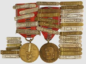 1942-1944 Commemorative Medal for the crusade against communism from Romania. Now on the Colnect catalog @Gail Regan Truax://colnect.com/medals