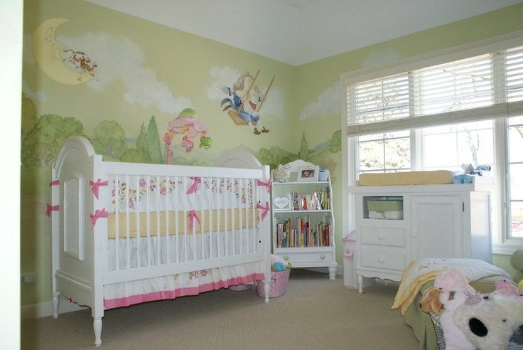 Storybook Theme Baby Nursery