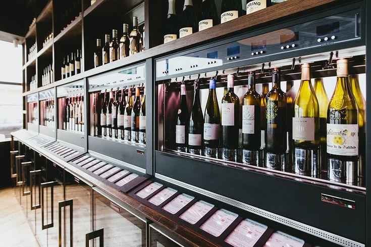 Bench Wine Bar & Tapas Ramsgate UK WineEmotion Wine Dispenser
