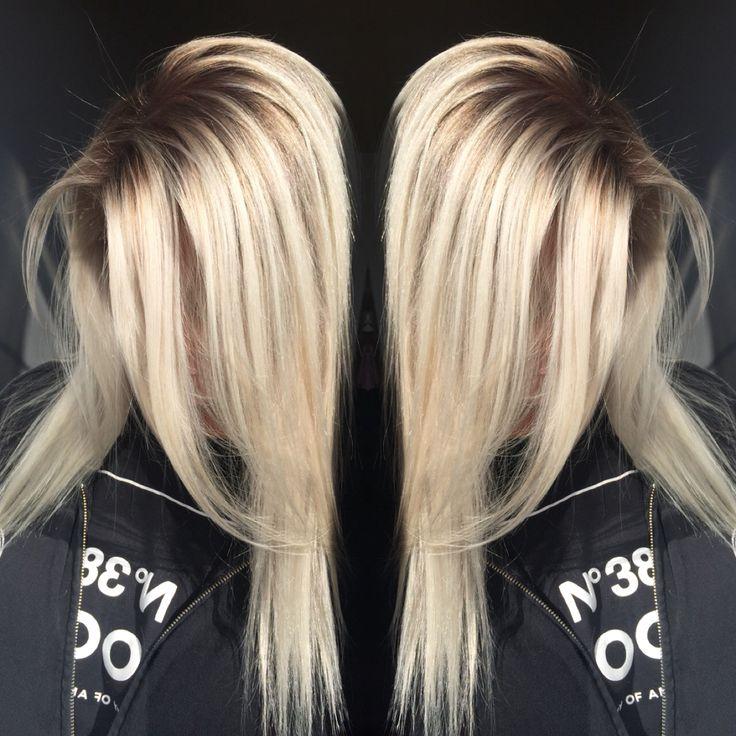 Dimensional Shadowed root blonde