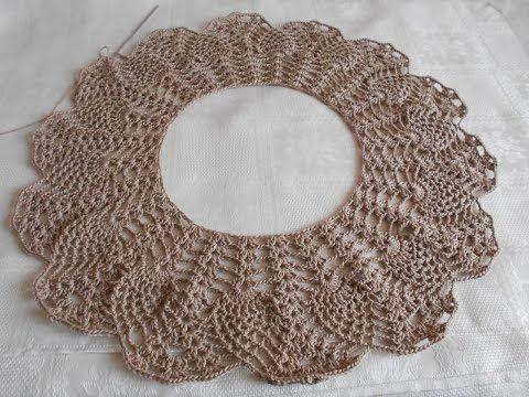 Manta tejida en crochet para bebe - cobijita tejida a crochet para bautizo - parte 3 - YouTube