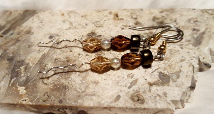 Rich Earth Earrings, jewelry,earrings,gift for wife,gift for daughter,gift for mom,gift for sister,bohemian,gift for girlfriend,unique gift by HisHeartbeat on Etsy