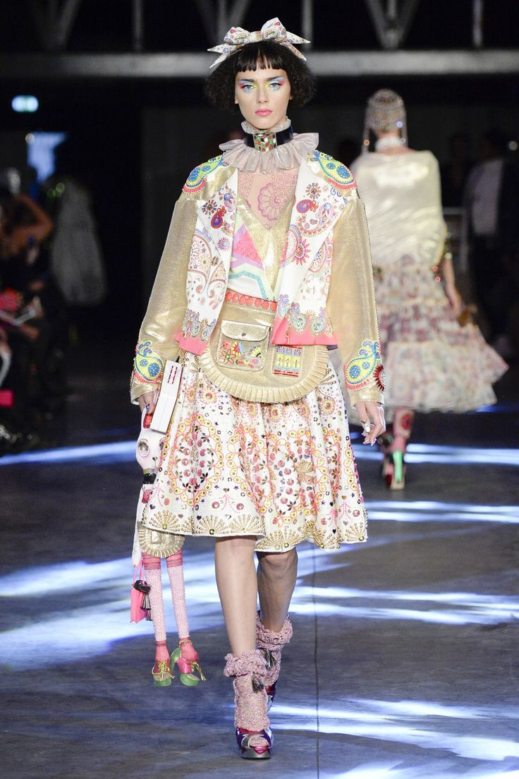 See the Manish Arora spring/summer 2016 collection. Click through for full gallery at vogue.co.uk