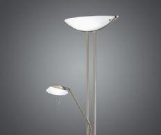 Standerlampe med Uplight og Læselampe