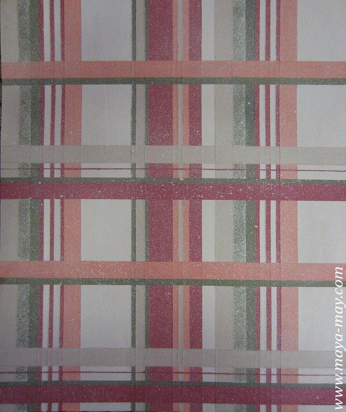 Textile motif design by Angela Kurnia. Color guache. #prints #textiledesign #art #painting #designer #checks #menswear