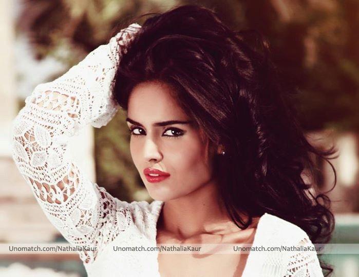 Nathalia Kaur (born Nathalia Pinheiro Felipe Martins on 15 August 1990) is a Brazilian model and actress who works in India.