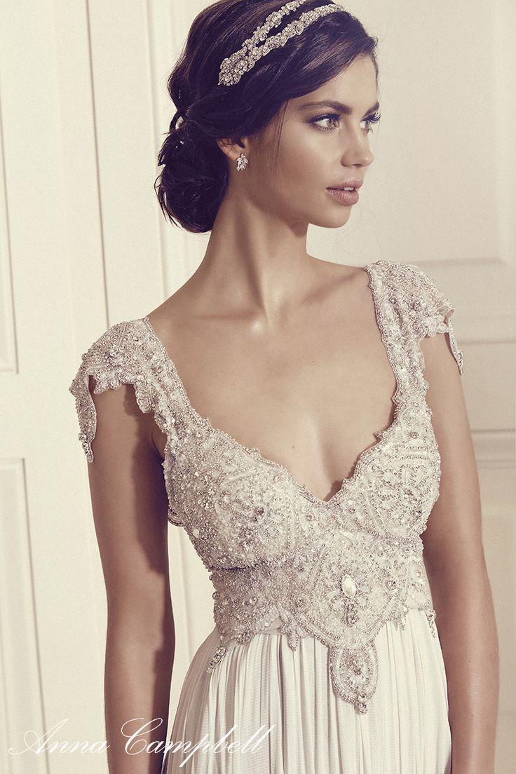 Anna Campbell Wedding Dresses Gossamer Bridal Colletion wedding ideas, wedding inspiration, bride, bridal gown