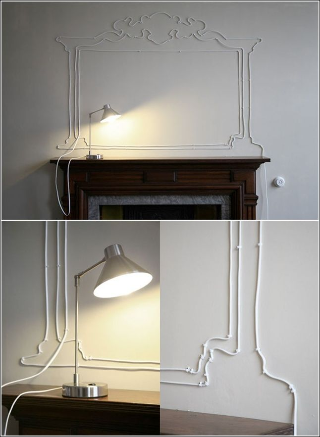 Yes You Can Draw with Cables Too Using Wire Clips