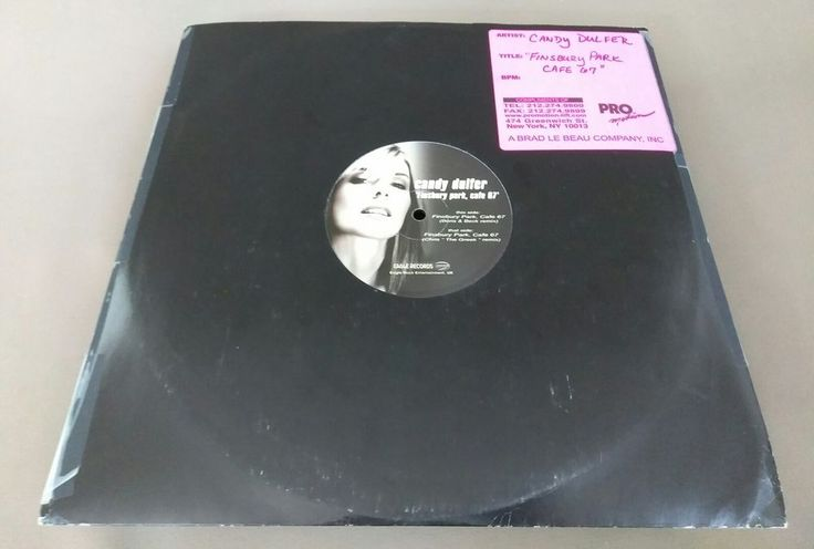 180 gram Candy Dulfer EP Finsbury Park, Cafe 67' Promo Dance Remix DJ Scratch | Music, Records | eBay!