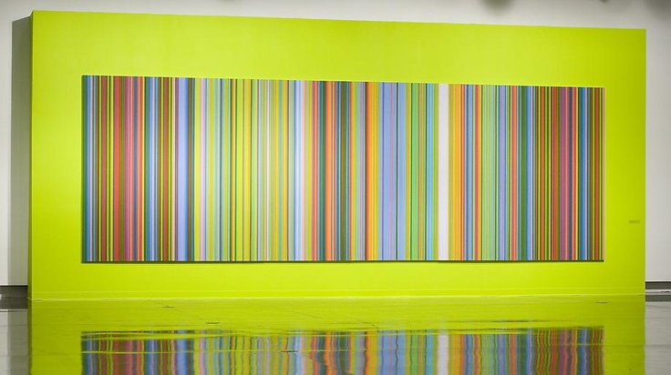 Tim Bavington    Step (in) Out, 2007 / Synthetic polymer on canvas