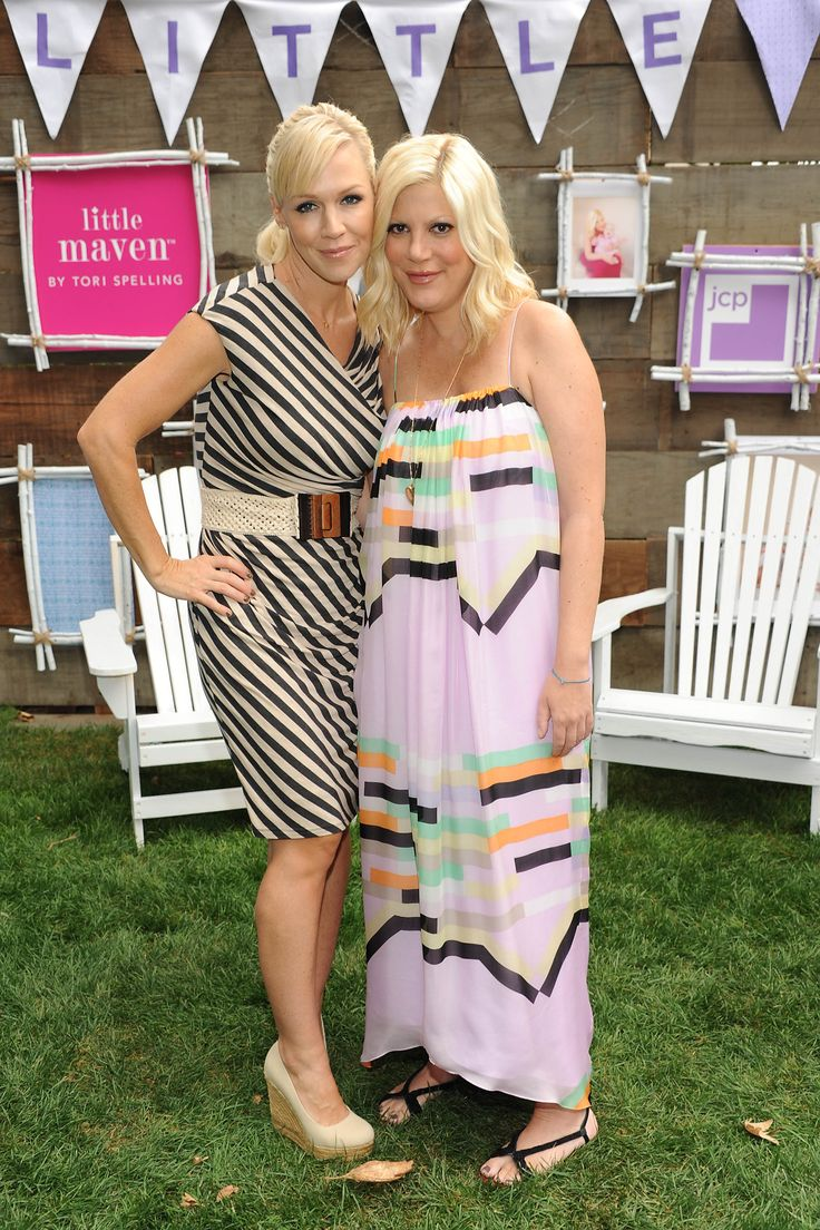 Tori Spelling Launches Little Maven For jcpenny and Goes Glamping With Jennie Garth! (Photos & Video)