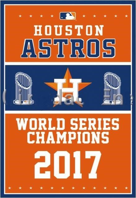 2017 World Series Champions Houston Astros Flag 3'x5'